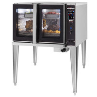 Blodgett HVH-100G-NAT Natural Gas Single Deck Full Size Hydrovection Oven with Helix Technology - 60,000 BTU