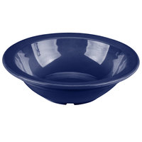 Carlisle PCD30550 Dark Blue 5 oz. Polycarbonate Fruit / Monkey Dish - 48/Case