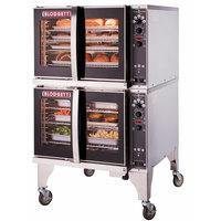 Blodgett HV-100G-LP Liquid Propane Double Deck Full Size Hydrovection Oven - 120,000 BTU
