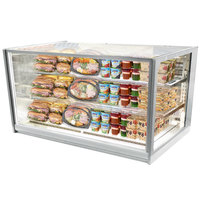 Federal Industries ITR6034 Italian Series 60 inch Drop-In Refrigerated Bakery Display Case - 26 cu. ft.