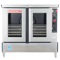 Blodgett ZEPHAIRE-100-E-208/1 Additional Model Full Size Standard Depth Electric Convection Oven - 208V, 1 Phase, 11 kW