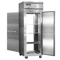 Continental Refrigerator 1RE-SA-PT 29 inch Solid Door Extra Wide Pass-Through Refrigerator - 21 Cu. Ft.