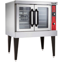 Vulcan VC4ED-12D1 Single Deck Full Size Electric Convection Oven - 240V, 12.5 kW
