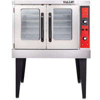 Vulcan VC3ED-11D1 Single Deck Full Size Electric Convection Oven - 208V, 12.5 kW