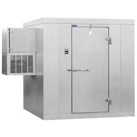 Nor-Lake Kold Locker 4' x 6' x 7' 7 inch Outdoor Walk-In Freezer with Wall Mounted Refrigeration