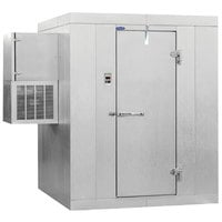 Nor-Lake Kold Locker 8' x 10' x 7' 7 inch Outdoor Walk-In Freezer with Wall Mounted Refrigeration