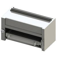 Blodgett BR-B36-RM-LP Cafe Series Liquid Propane 36 inch Range Mount Infrared Salamander Broiler - 35,000 BTU