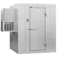 Nor-Lake Kold Locker 6' x 8' x 7' 7 inch Outdoor Walk-In Freezer with Wall Mounted Refrigeration