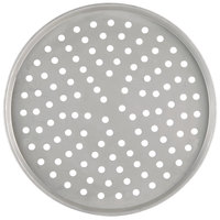 American Metalcraft PT2009 9 inch Perforated Tin-Plated Steel Pizza Pan