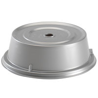 Cambro 1013CW486 Camwear 10 13/16 inch Silver Metallic Camcover Plate Cover - 12/Case
