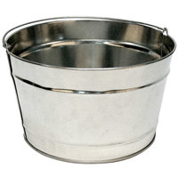 Commercial Zone 796200 16 Qt. Cigarette Receptacle Replacement Metal Pail