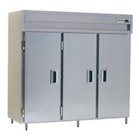 Delfield SAH3-S 78.89 Cu. Ft. Solid Door Three Section Reach In Heated Holding Cabinet - Specification Line
