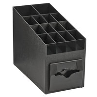 Vollrath CTNO-06 Countertop Napkin Dispenser / Organizer with Adjustable Compartments