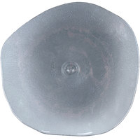Cardinal Arcoroc FJ401 Tiger 13 inch Gray Glass Free Form Plate - 18/Case