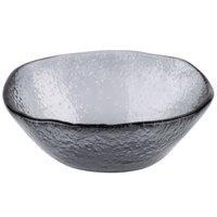 Cardinal Arcoroc FJ403 Tiger 11.25 oz. Gray Glass Free Form Bowl - 10/Case