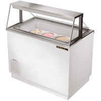 True TDC-47 47 inch Straight Glass Ice Cream Dipping Cabinet