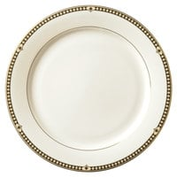 Syracuse China 911191003 Baroque 6 1/2 inch Bone China Dessert Plate - 36/Case