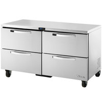 True TUC-60D-4~SPEC1 60 inch Spec Series Undercounter Refrigerator with Four Drawers