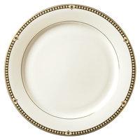 Syracuse China 911191025 Baroque 11 3/8 inch Bone China Dinner Plate - 12/Case