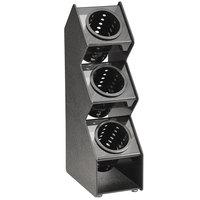 Vollrath FWVH-3B 3 Hole Vertical Countertop Flatware Organizer