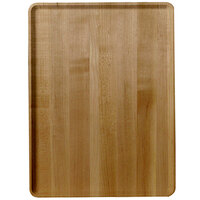 Cambro 1216D307 12 inch x 16 inch Light Elm Wood-Look Dietary Tray - 12/Case