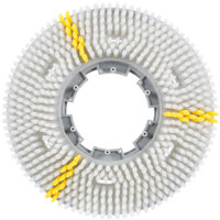 Carlisle 3619VWH EZSnap 19 inch White Value Rotary Daily Cleaning Brush
