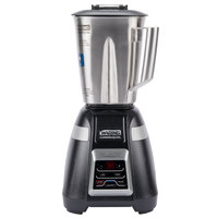 Waring BB340S Blade 48 oz. Bar Blender with Stainless Steel Container, Electronic Keypad Controls, and Timer - 120V