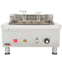 APW Wyott EF-30i 30 lb. Commercial Countertop Deep Fryer