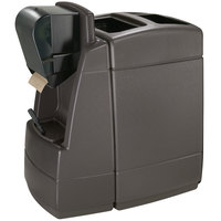 Commercial Zone 75830599 55 Gallon Islander Series Maui 1 Gray Waste Container with Windshield Wash Station