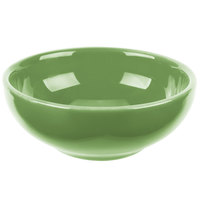 Syracuse China 903046002 Cantina 5 oz. Sage Uncarved Porcelain Salsa Bowl   - 12/Case