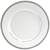 10 Strawberry Street ATH-1P Athens 10 3/4 inch Platinum Dinner Plate - 24/Case