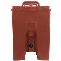 Cambro 100LCDPL402 Camtainer 1.5 Gallon Brick Red Insulated Soup Carrier