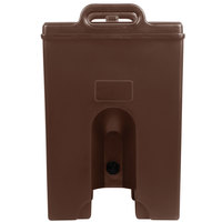 Cambro 100LCDPL131 Camtainer 1.5 Gallon Dark Brown Insulated Soup Carrier