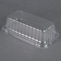 Durable Packaging P5100-500 Clear Dome Lid for 2 lb. Foil Bread Loaf Pan 50 / Pack