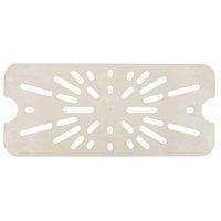 Cambro 90HPD772 1/9 Size Sandstone High Heat Drain Tray
