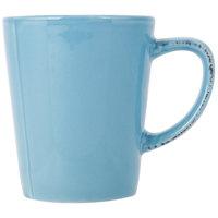 World Tableware FH-517H Farmhouse 12 oz. Blue Hen Porcelain Mug - 36/Case