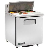 True TSSU-27-8-ADA-HC LH 27 inch ADA Height Sandwich / Salad Prep Refrigerator with Left-Hinged Door