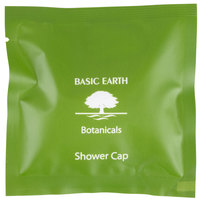 Basic Earth Botanicals Hotel and Motel Shower Cap - 250/Box