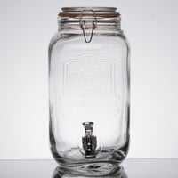 1.5 Gallon Style Setter Main Street Glass Beverage Dispenser
