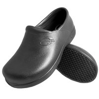 Genuine Grip 380 Women's Size 10 Medium Width Black Ultra Light Waterproof Non Slip Injection Clog
