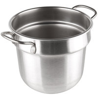 Vollrath 77073 7 qt. Stainless Steel Double Boiler Inset - Round Bottom