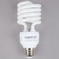 Satco S7227 23 Watt (100 Watt Equivalent) Warm White Compact Fluorescent Light Bulb - 120V (T2)