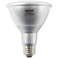 Satco S9431 13 Watt (75 Watt Equivalent) Warm White Indoor/Outdoor Long Neck LED Reflector Light Bulb - 120V (PAR30LN)