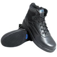 Genuine Grip 5060 Thunderbolt Men's Size 12 Medium Width Black Composite Toe Non Slip Full Grain Leather Tactical Boot with Zipper Lock