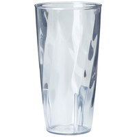 Carlisle 4366507 Swirl 10 oz. Clear Polycarbonate Tumbler   - 36/Case