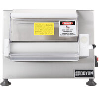 Doyon DL12SP Countertop 12 inch Dough Roller Sheeter - One Stage, Horizontal Rollers
