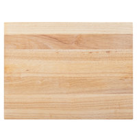 Choice 24 inch x 16 inch x 1 3/4 inch Wood Cutting Board