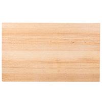"""Choice 30"""" x 18"""" x 1 3/4"""" Wood Cutting Board"""