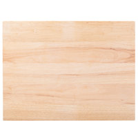 Choice 24 inch x 18 inch x 1 3/4 inch Wood Cutting Board