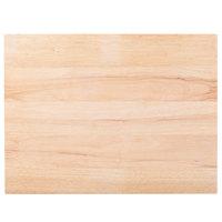 """Choice 24"""" x 18"""" x 1 3/4"""" Wood Cutting Board"""